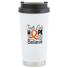 Faith Hope Kidney Cancer Travel Mug
