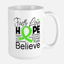 Faith Hope Lymphoma Mug