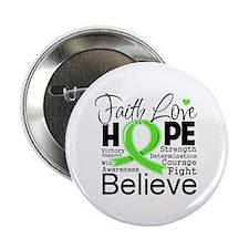 """Faith Hope Lymphoma 2.25"""" Button (100 pack)"""