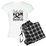 Faith Hope Melanoma Women's Light Pajamas