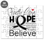 Faith Hope Melanoma Puzzle