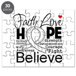 Faith Hope Mesothelioma Puzzle