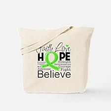 Faith Non-Hodgkins Lymphoma Tote Bag