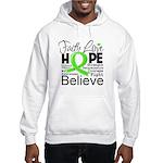 Faith Non-Hodgkins Lymphoma Hooded Sweatshirt