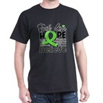 Faith Non-Hodgkins Lymphoma Dark T-Shirt