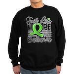 Faith Non-Hodgkins Lymphoma Sweatshirt (dark)