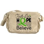 Faith Non-Hodgkins Lymphoma Messenger Bag