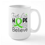 Faith Non-Hodgkins Lymphoma Large Mug