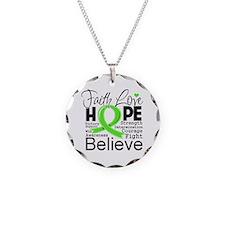 Faith Non-Hodgkins Lymphoma Necklace