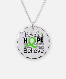 Faith Non-Hodgkins Lymphoma Necklace