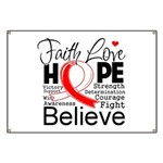 Faith Hope Oral Cancer Banner
