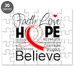 Faith Hope Oral Cancer Puzzle