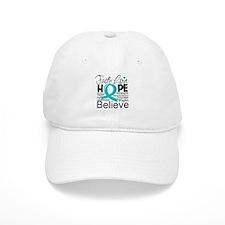 Faith Hope Ovarian Cancer Hat