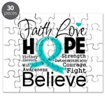Faith Hope Ovarian Cancer Puzzle