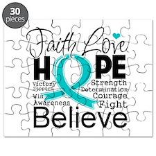 Faith Hope Ovarian Cancer Puzzle
