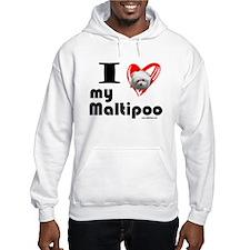 I Love my Maltipoo Hoodie