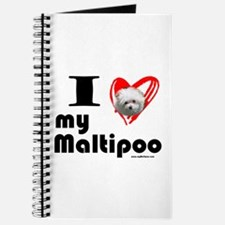 I Love my Maltipoo Journal