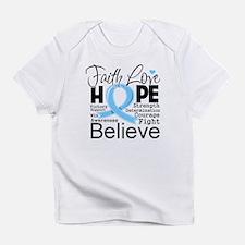Faith Hope Prostate Cancer Infant T-Shirt