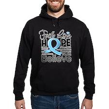 Faith Hope Prostate Cancer Hoodie