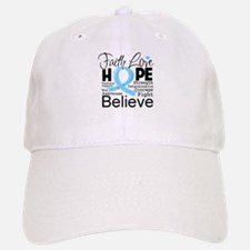 Faith Hope Prostate Cancer Baseball Baseball Cap