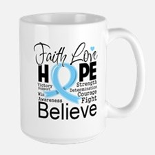 Faith Hope Prostate Cancer Mug