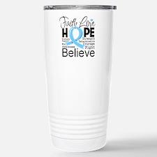 Faith Hope Prostate Cancer Travel Mug