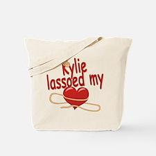 Kylie Lassoed My Heart Tote Bag