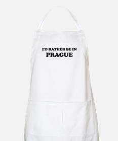 Rather be in Prague BBQ Apron