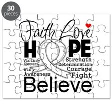 Faith Hope Retinoblastoma Puzzle