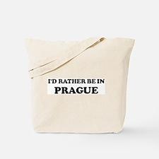 Rather be in Prague Tote Bag