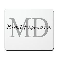 Baltimore thru MD Mousepad