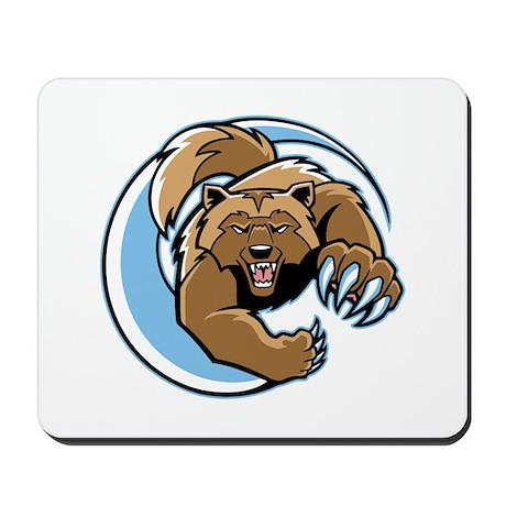 Wolverine Mascot Mousepad
