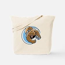 Wolverine Mascot Tote Bag