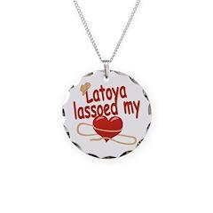 Latoya Lassoed My Heart Necklace