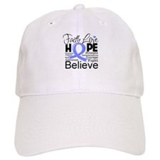 Faith Hope Stomach Cancer Baseball Cap