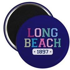 Long Beach 1897 Magnet