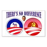 SOCIALIST LEADER Sticker (Rectangle 50 pk)