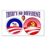 SOCIALIST LEADER Sticker (Rectangle 10 pk)