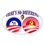 SOCIALIST LEADER Sticker (Oval 50 pk)