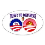 SOCIALIST LEADER Sticker (Oval)
