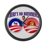SOCIALIST LEADER Large Wall Clock