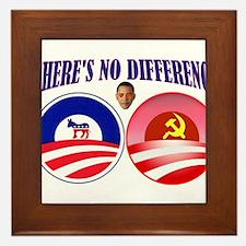 SOCIALIST LEADER Framed Tile