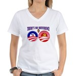 SOCIALIST LEADER Women's V-Neck T-Shirt