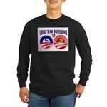 SOCIALIST LEADER Long Sleeve Dark T-Shirt