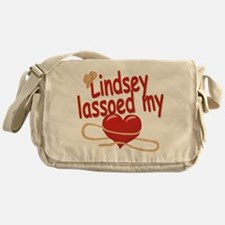 Lindsey Lassoed My Heart Messenger Bag