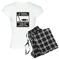 If found on ground (female runner) Pajamas