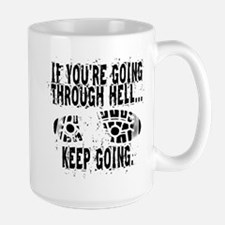 Going Through Hell - Runner Mug