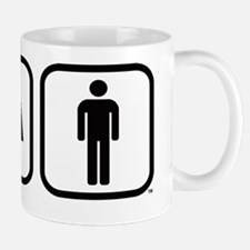 Ironman Triathlon Icons Mug