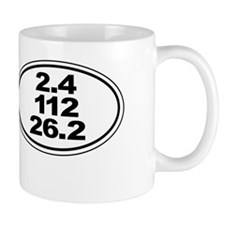Ironman Triathlon Distances Mug