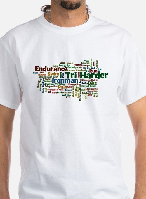 Ironman Triathlon Jargon Shirt
